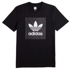Adidas BB Warp Print T-Shirt - Black/White