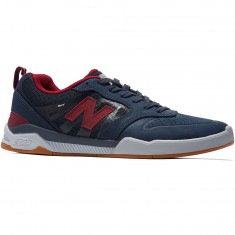 New Balance Numeric 868 Shoes - Navy/Burgundy