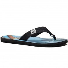 Reef HT Prints Sandals - RG Charcoal/Blue Sky