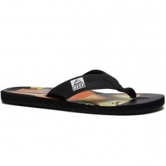 Reef HT Prints Sandals - RG Black/Red