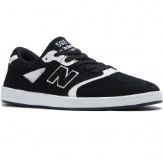 New Balance 598 Shoes - Black/White