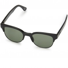Vans Steam Sunglasses - Black/Dark Green