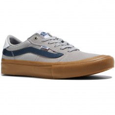 Vans Style 112 Pro Shoes - Drizzle/Dress Blues/Gum