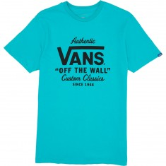 Vans Holder Street Custom T-Shirt - Teal