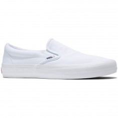 Vans Slip-On Pro Shoes - White/White
