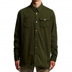 Adidas Terry Over Shirt - Night Cargo