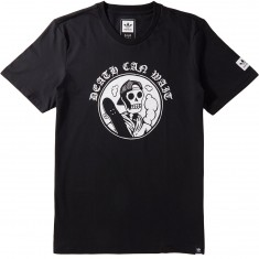 Adidas Death Can Wait T-Shirt - Black/White