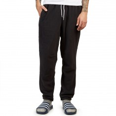 Adidas Premiere Fleece Pants - Black/Utility Black/Tactile Gold/Scarlet