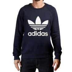 Adidas Trefoil Crewneck Sweatshirt - Legend Ink