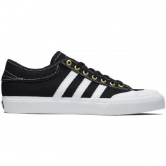 Adidas Matchcourt ADV Shoes - Black/White/Gold Metallic