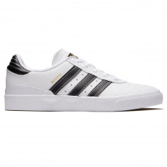 Adidas Busenitz Vulc Shoes - White/Core Black/Gold Metallic