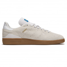 Adidas Busenitz RX Shoes - White/Gum/Gold Metallic