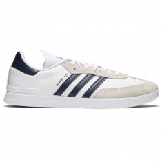 Adidas Samba ADV Shoes - White/Conavy/Gold Metallic