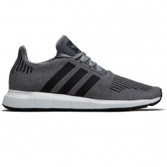 Adidas Swift Run Shoes - Grey Two/Black/Medium Grey Heather