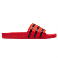 Adidas Adilette Slides - Real Coral/Core Black/Real Coral
