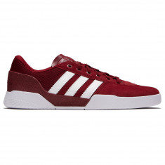 Adidas City Cup Shoes - Collegiate Burgundy/White/White