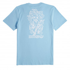Adidas X Krooked T-Shirt - Clear Blue/White