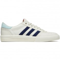Adidas X Helas Lucas Premiere Shoes - Off White/Dark Blue/Clear Aqua