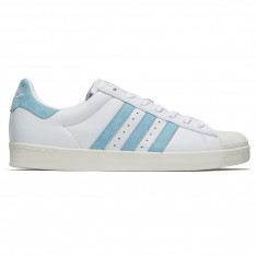 Adidas X Krooked Superstar Vulc Shoes - White/Chalk White