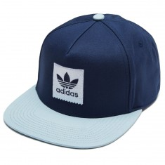 Adidas 2Tone Snapback Hat - Night Indigo/Ash Grey