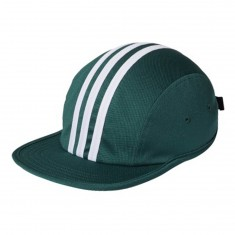 Adidas City Stripes 4 Panel Hat - Collegiate Green