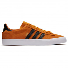 Adidas Campus Vulc II Shoes - Real Gold/Core Black/White