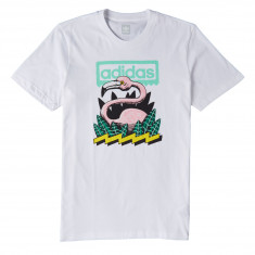 Adidas Wading T-Shirt - White/Green/Black