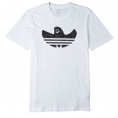 Adidas Shmoo Warped T-Shirt - White/Black/Solid Grey