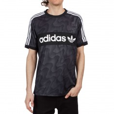 Adidas Clima Club Warp Jersey - Black/Solid Grey