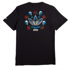 Adidas Shackles T-Shirt - Black/White/Green/Red