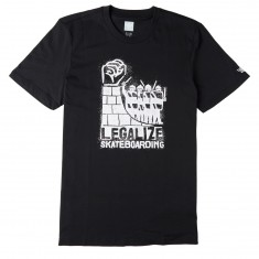 Adidas Legalize Skateboarding T-Shirt - Black/White