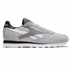 Reebok Classic Leather MCCS Shoes - Marble/Iron Curtain/Gravel/Coke White