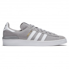 Adidas Campus ADV Shoes - MGH Solid Grey/White/White