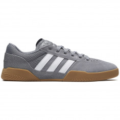 Adidas City Cup Shoes - Grey/White/Gum