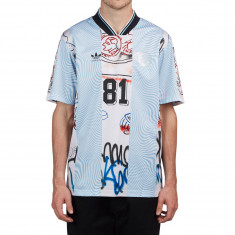 Adidas Gonzales Jersey - Black/White/Clear Blue/Multicolor