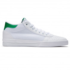 Adidas Lucas Premiere Mid Shoes - White/White/Green