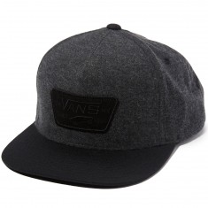 Vans Full Patch Snapback Hat - Asphalt/Black