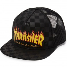 Vans X Thrasher Trucker Hat - Black