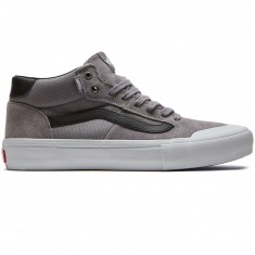 Vans Style 112 Mid Pro Shoes - Frost Gray/White