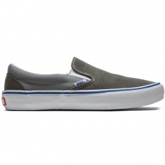 Vans Slip On Pro Shoes - Gunmetal/Monument