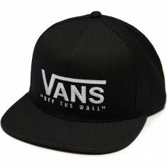Vans Hucks Snapback Hat - Black/White