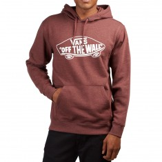 Vans OTW  Hoodie - Port Royale Heather/White Outline