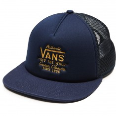 Vans Galer Trucker Hat - Dress Blues/Golden Glow