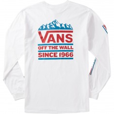 Vans Cliff Longsleeve T-Shirt - White