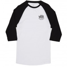 Vans Holder St Raglan T-Shirt - White/Black