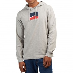 Vans Short Stack Hoodie - Cement Heather