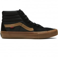 Vans X Thrasher Sk8 Hi Pro Shoes - Thrasher Black/Gum