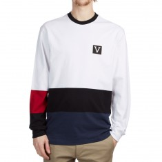 Vans Chima Colorblock Longsleeve Shirt - White