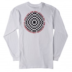 Vans Checkered Longsleeve T-Shirt - White