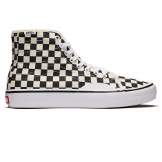 Vans AV Classic High Pro Shoes - Black/White Checkerboard
